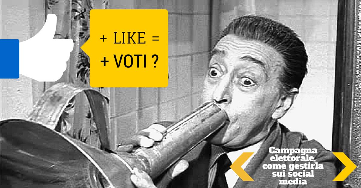 Campagna elettorale, come gestirla sui social media