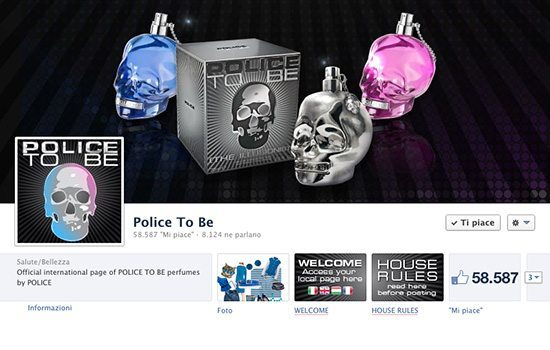 Pagina Facebook POLICE TO BE UK