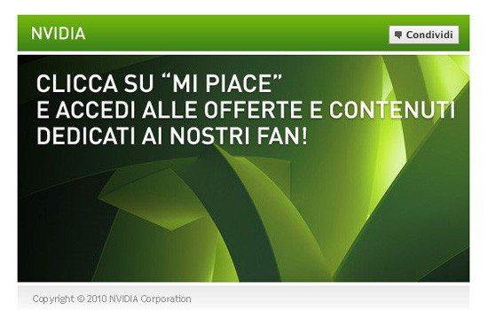 NVIDIA Facebook page