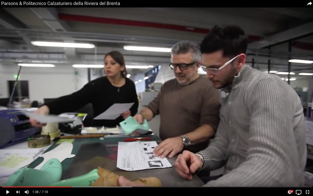 Video per Parsons School for Design e Politecnico Calzaturiero