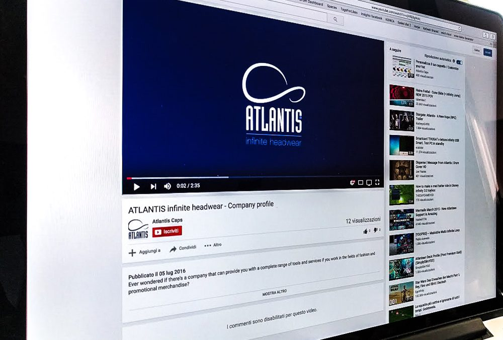 ATLANTIS Caps – Video Company profile