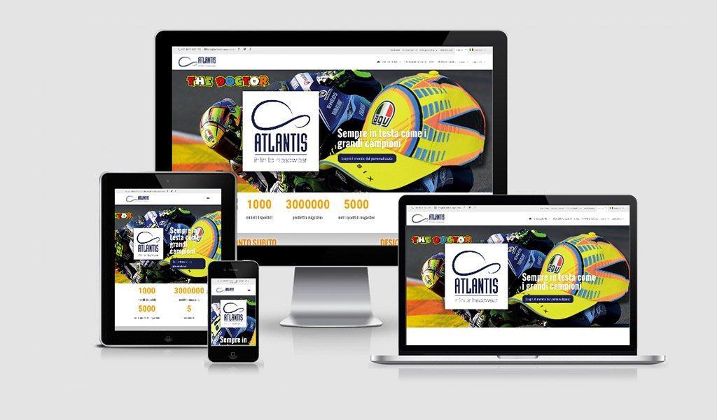 ATLANTIS Caps – nuovo sito