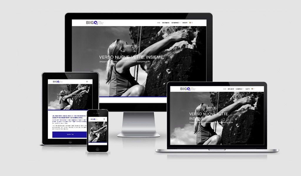 BIGQ – Brand e Website