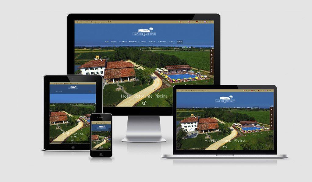 Country House Casa dei Racconti – nuovo sito e immagine coordinata