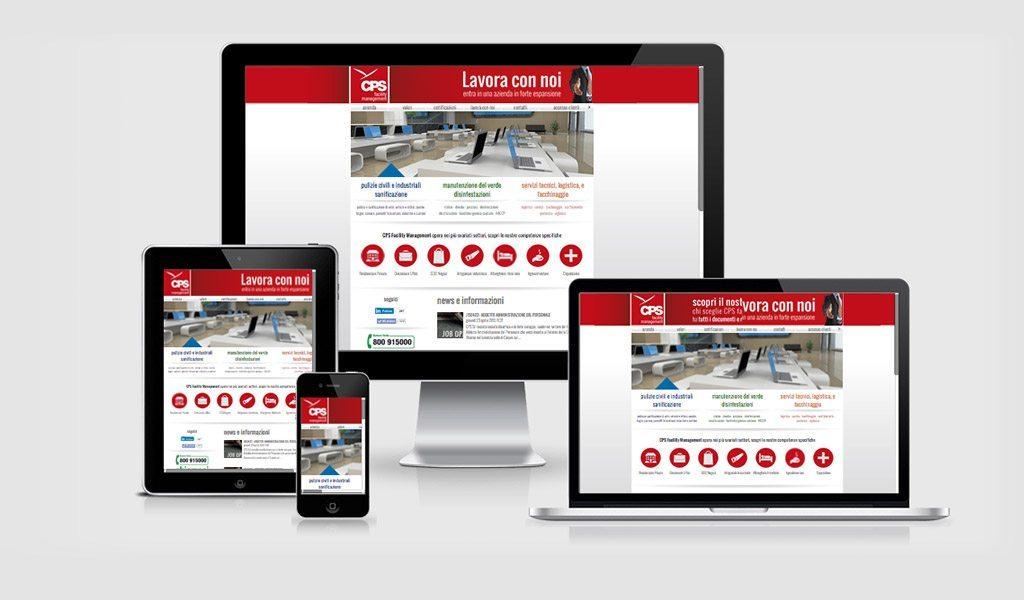 Rebranding e web design per CPS facility management